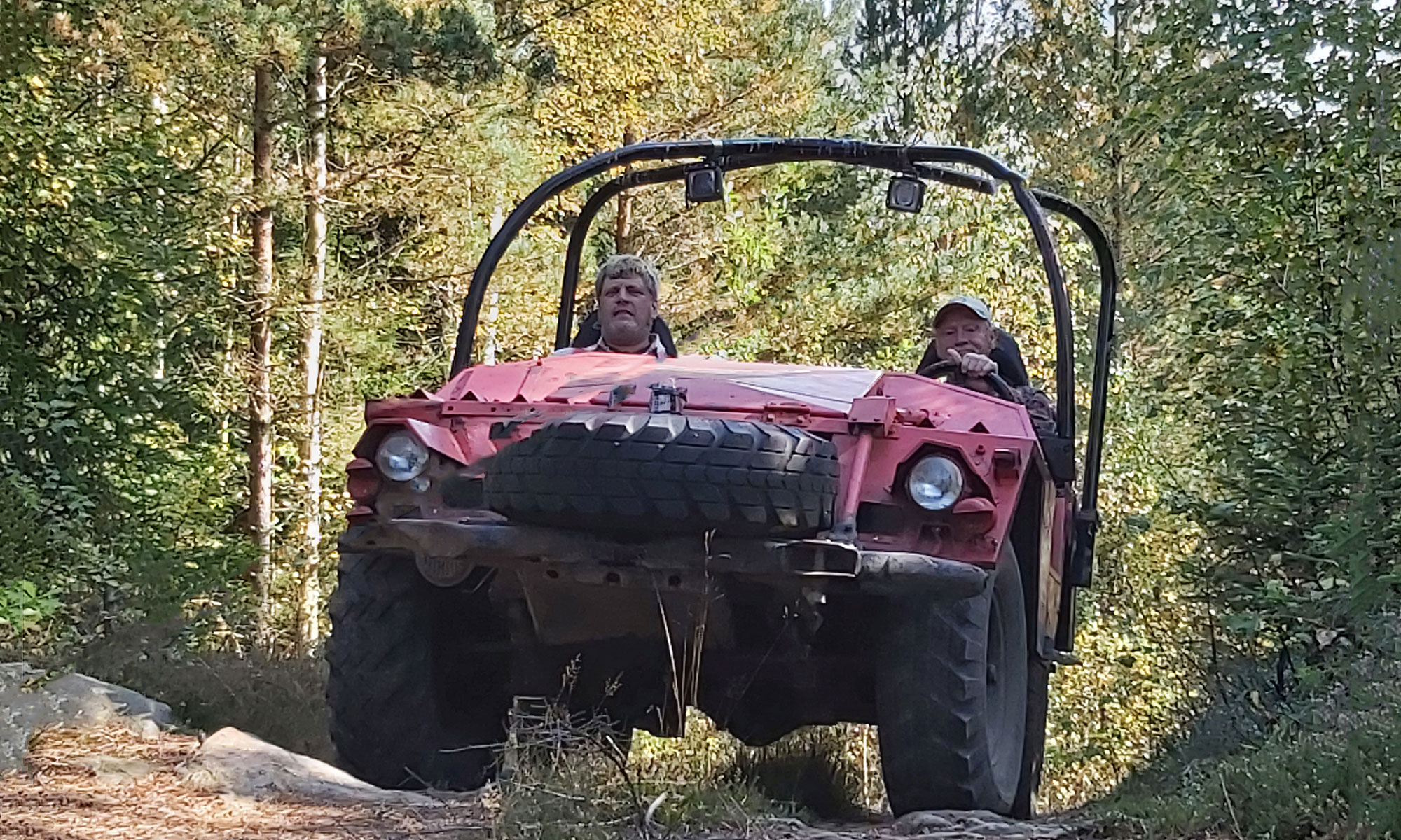 Jeep på Rävgården
