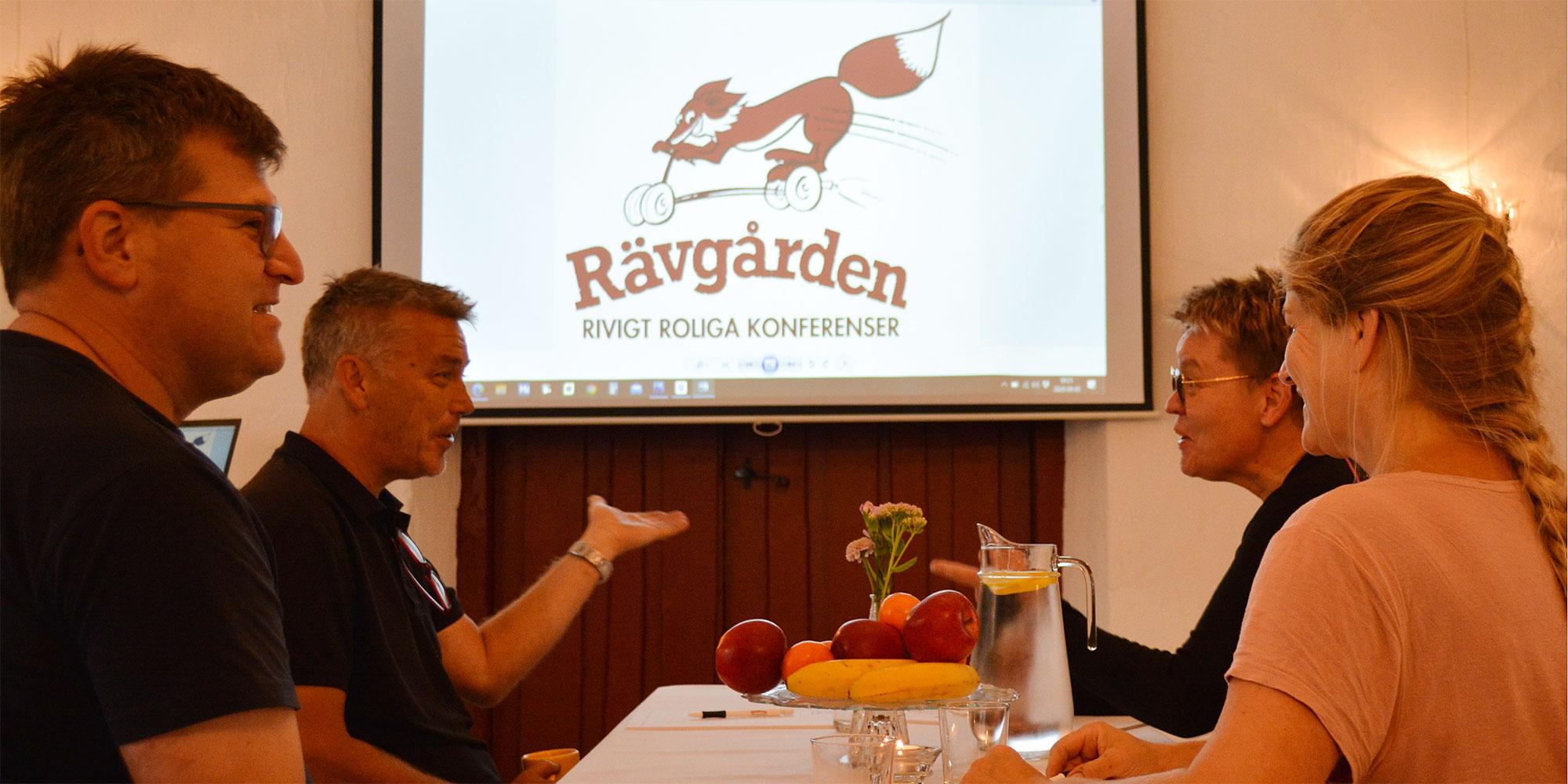 Konferens på mysiga Rävgården