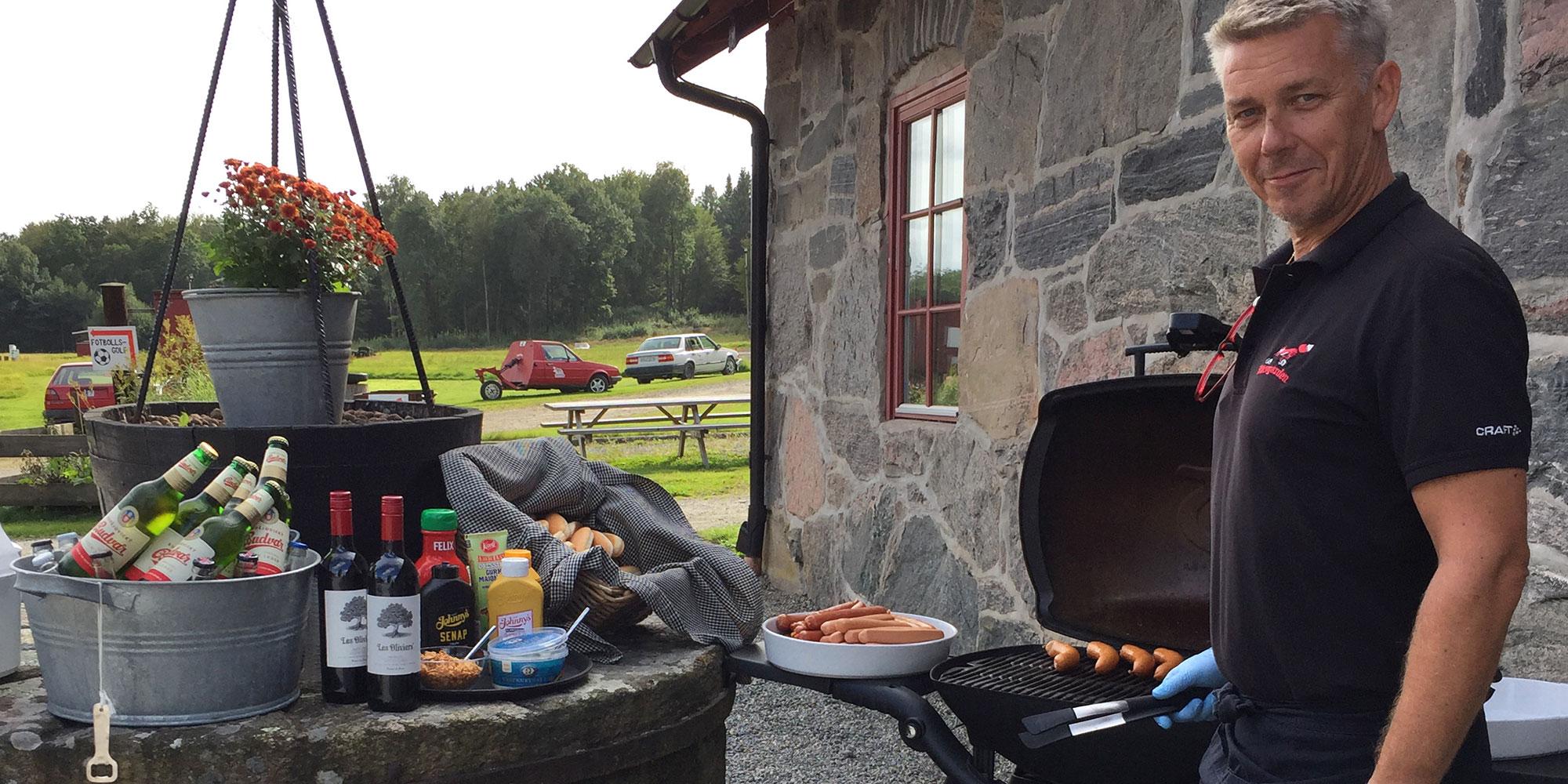 Grillning på Rävgården